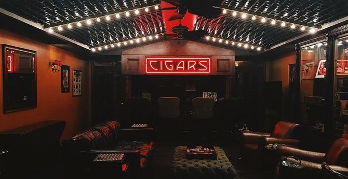 tiburon representation at cigar lounges retail